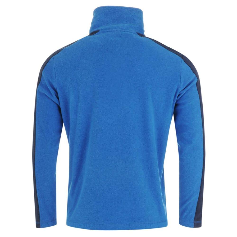 GELERT Men's Atlantis Microfleece Quarter Zip Pullover - Gelert Blue/Nvy