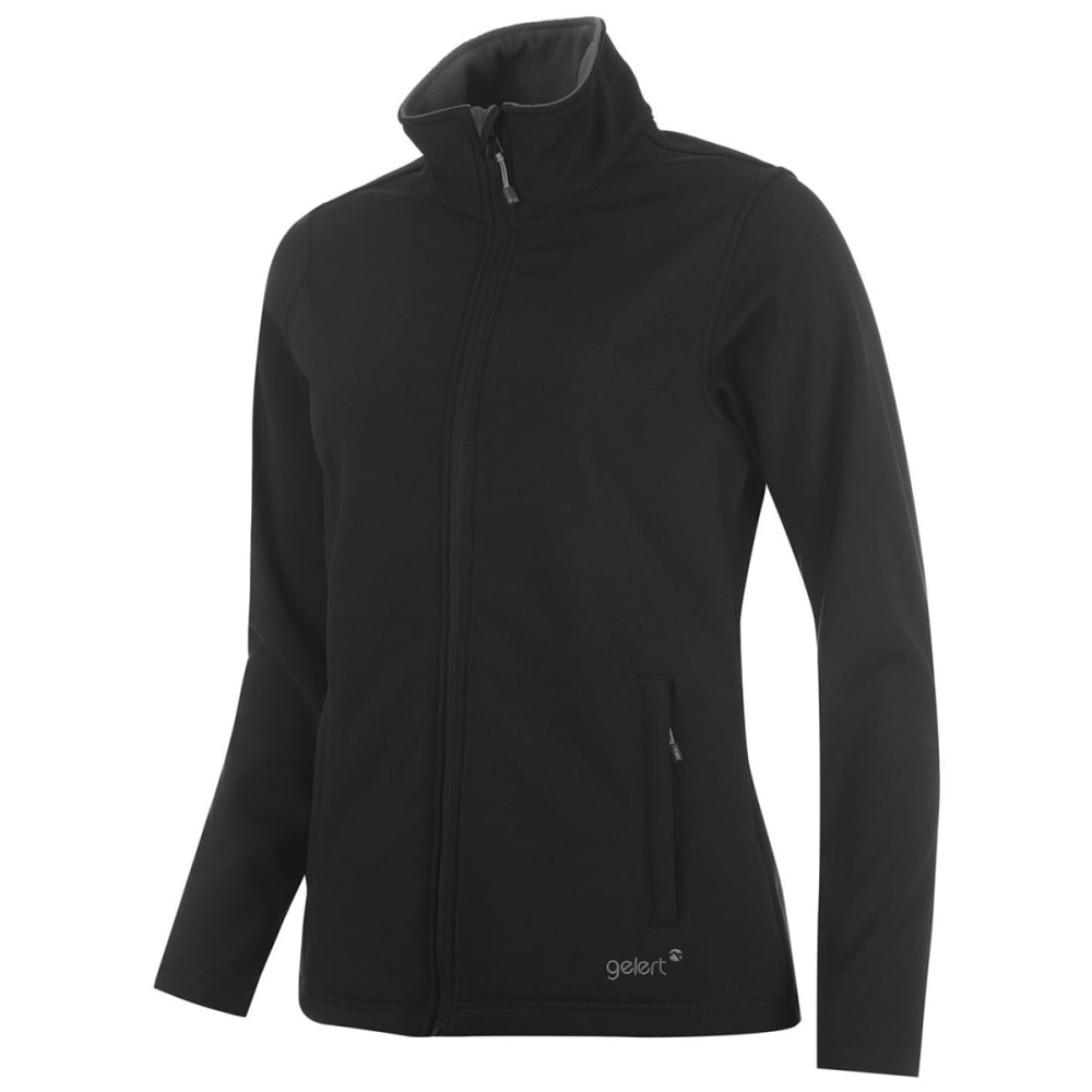 GELERT Women's Softshell Jacket - BLACK