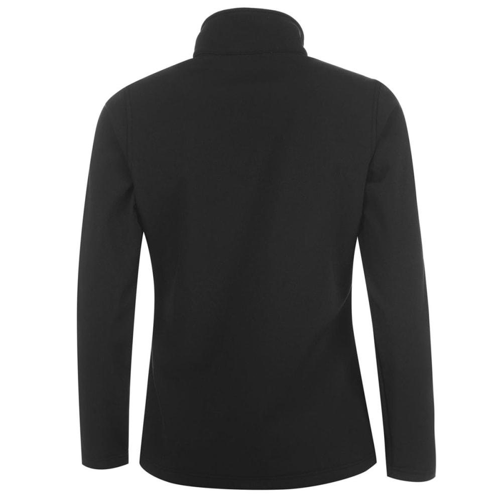 GELERT Women's Softshell Jacket - BLACK