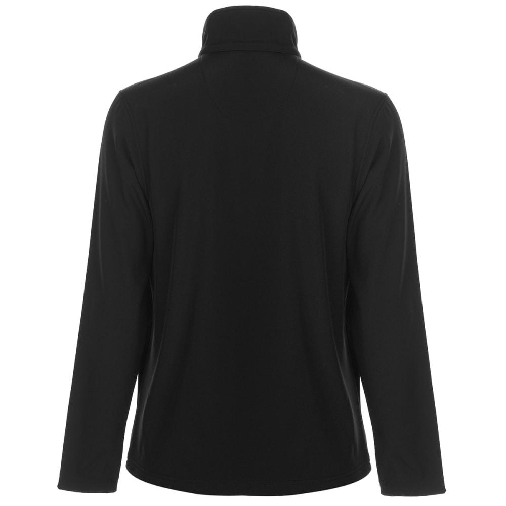 GELERT Men's Softshell Jacket - BLACK