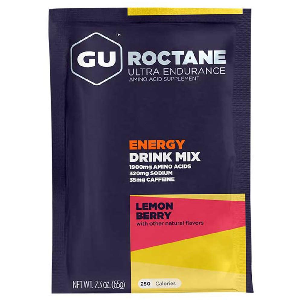 GU Lemon Berry Roctane Energy Drink Mix - NO COLOR