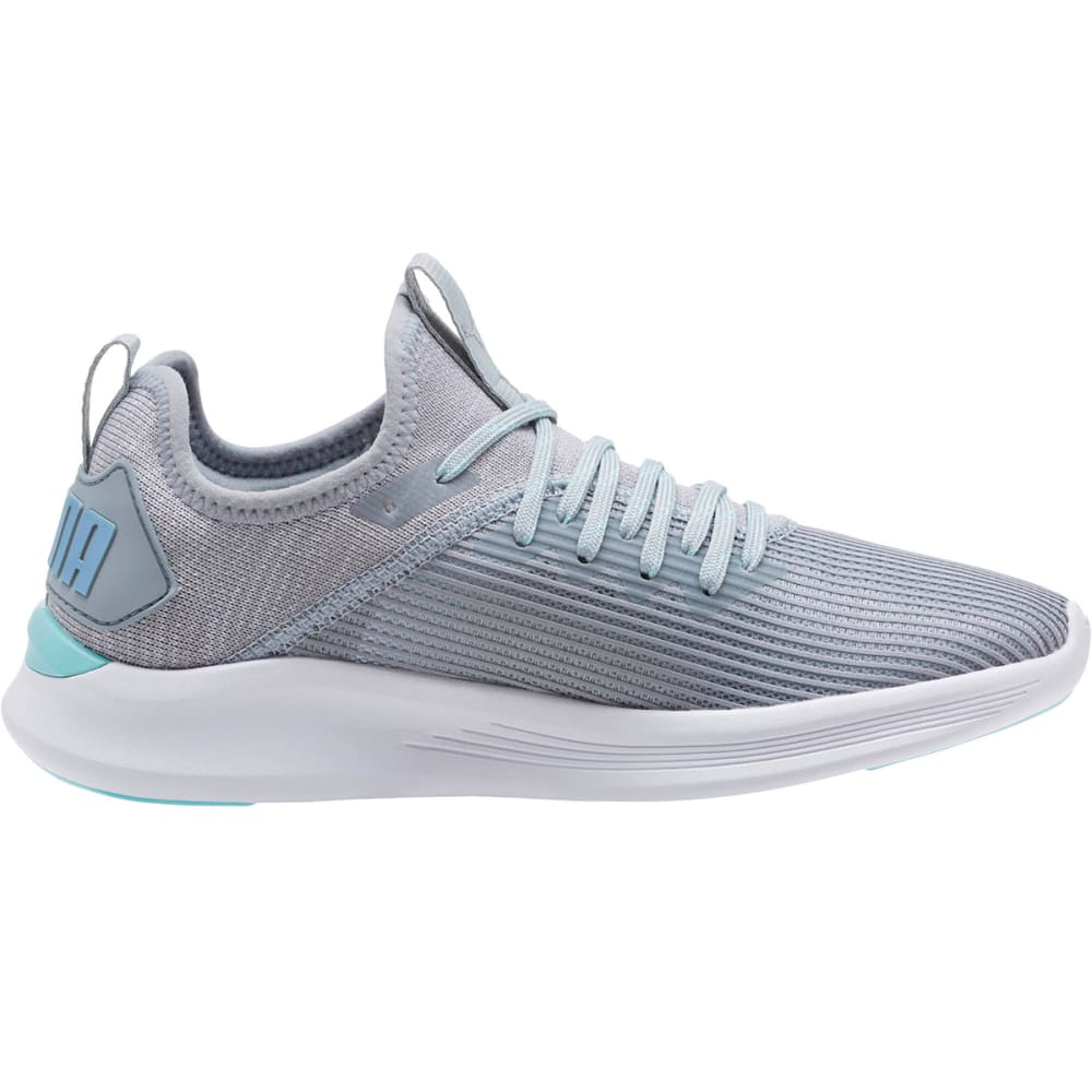 PUMA Women's IGNITE Flash Stripped Running Shoes - QUARRY - 03