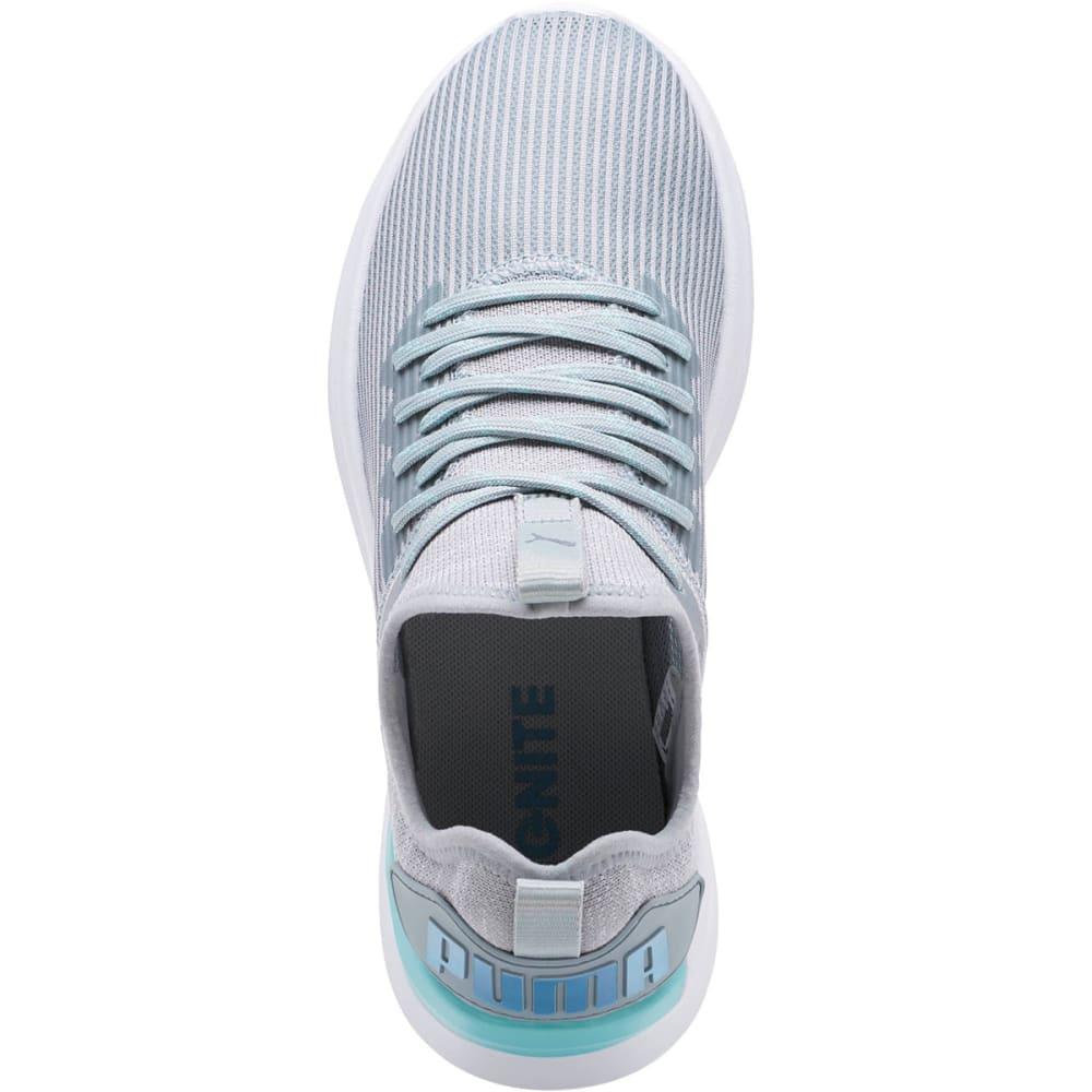 PUMA Women's IGNITE Flash Stripped Running Shoes - QUARRY - 03