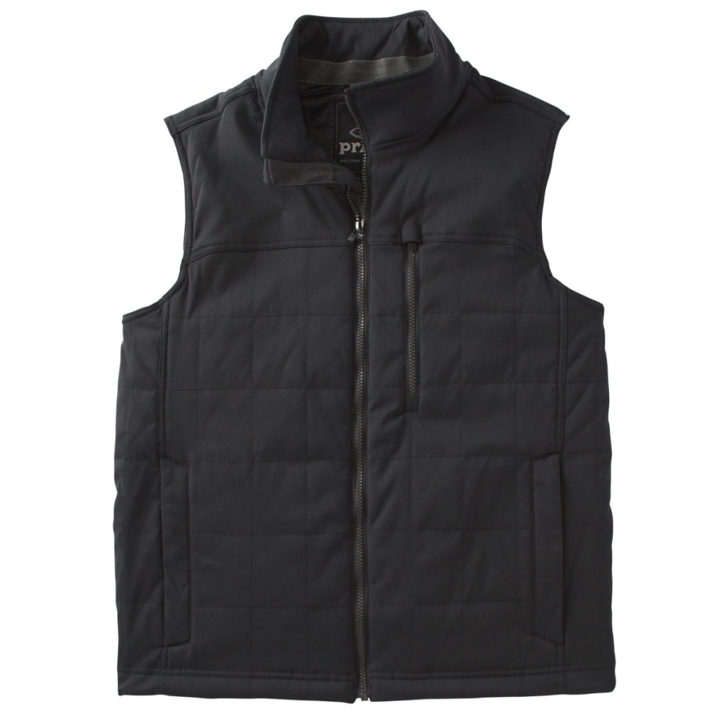 PRANA Men's Zion Quilted Vest - BLACK