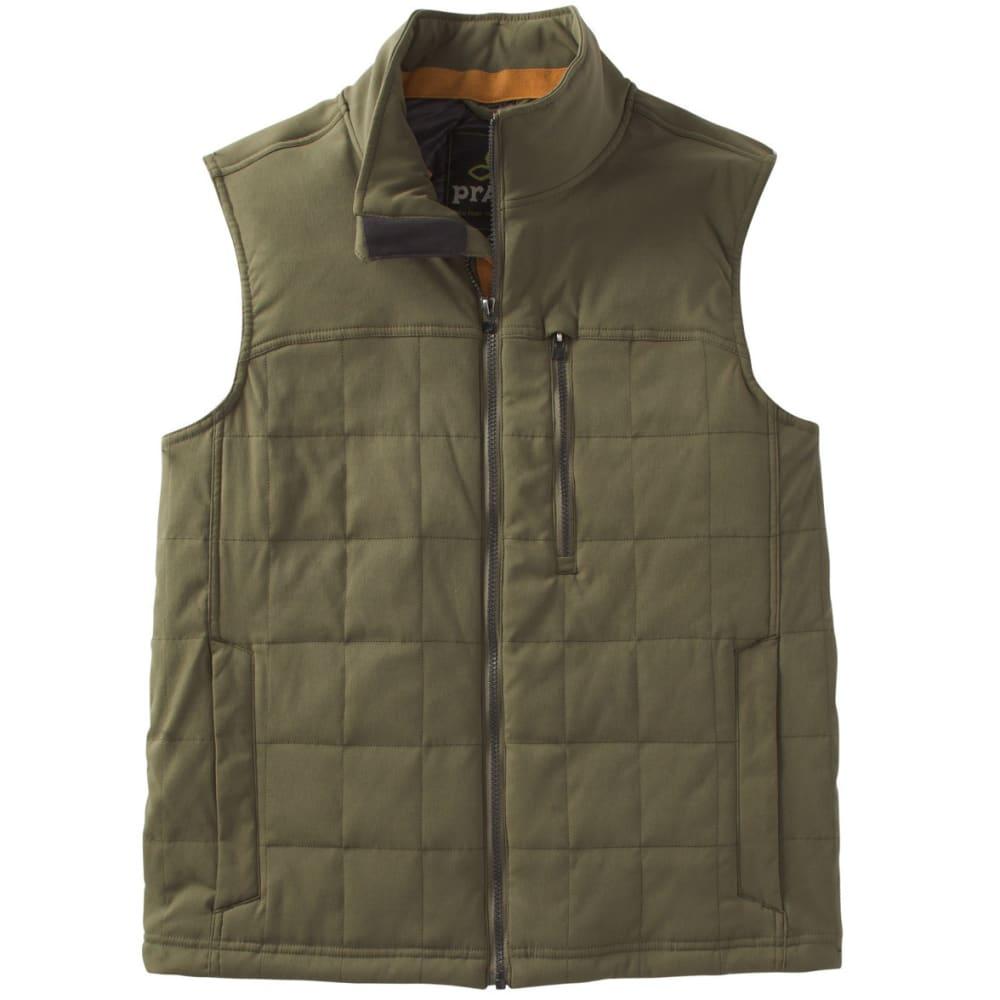 PRANA Men's Zion Quilted Vest - CARGO GREEN