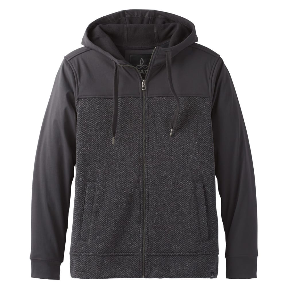 PRANA Men's Zion Full Zip Hoodie - CHARCOAL