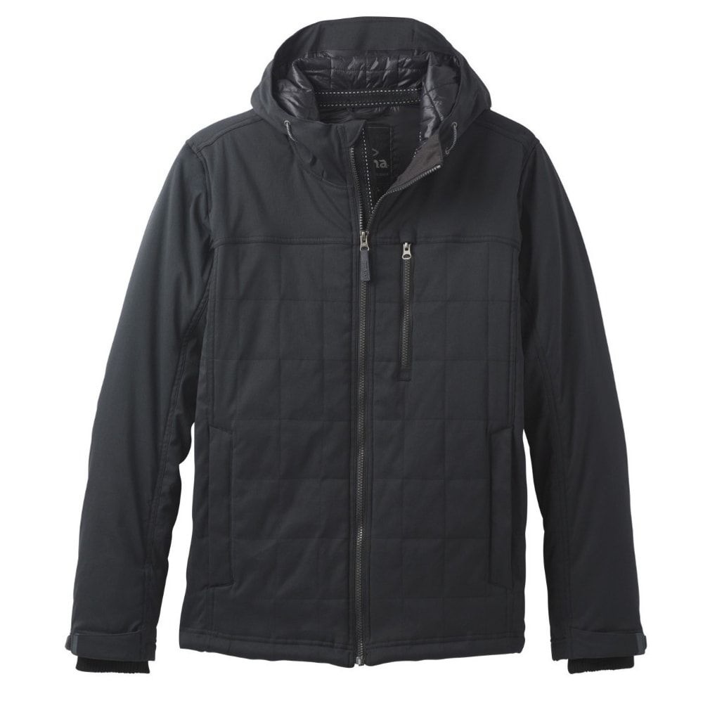 PRANA Men's Zion Quilted Jacket - BLACK