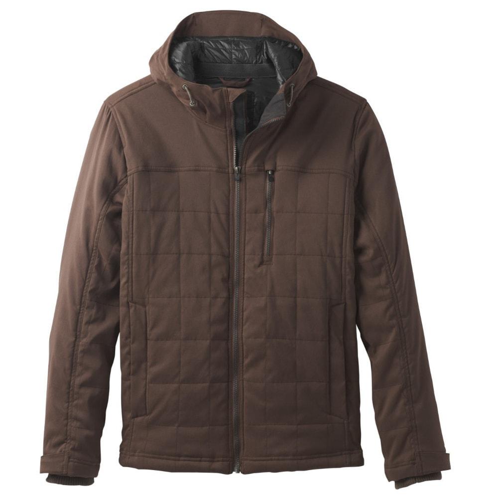 PRANA Men's Zion Quilted Jacket - COFFEE BEAN