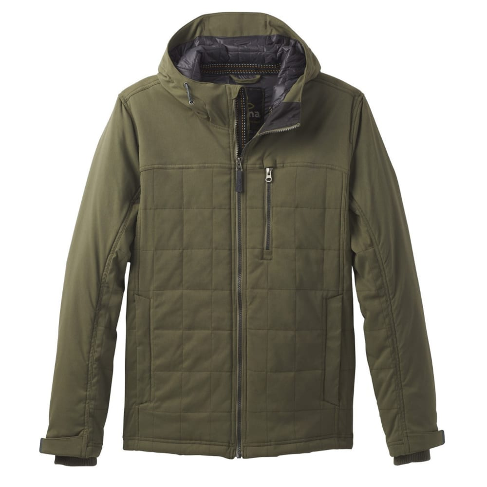 PRANA Men's Zion Quilted Jacket - CARGO GREEN