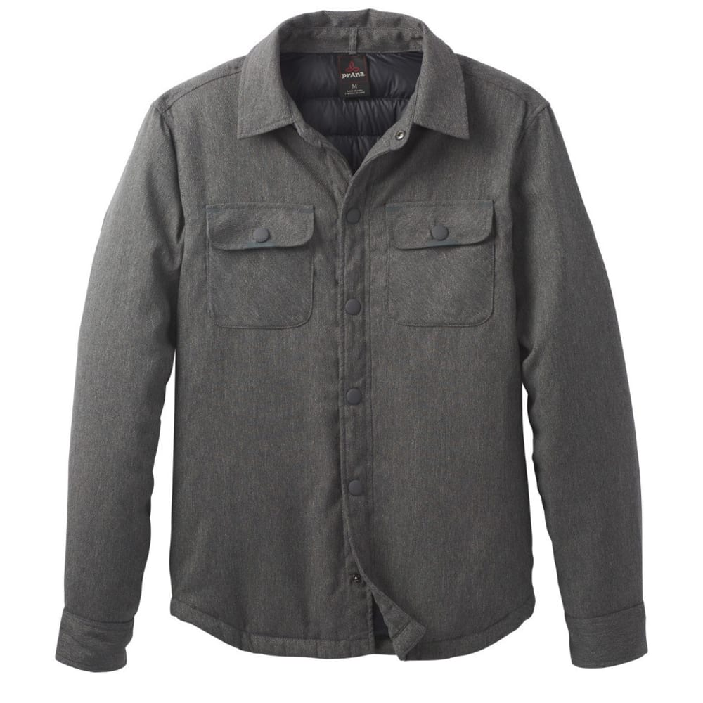 PRANA Men's Showdown Jacket - CHARCOAL