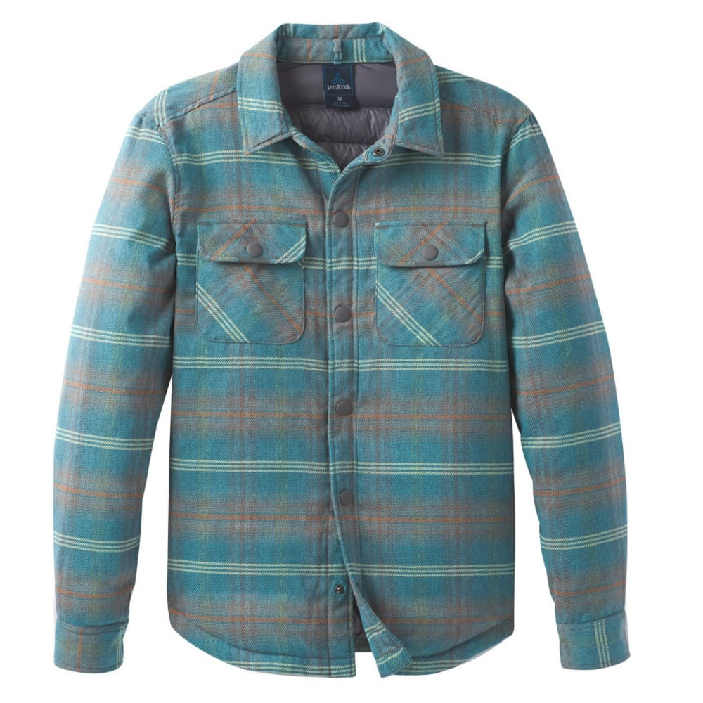 PRANA Men's Showdown Jacket - RIVER ROCK BLUE