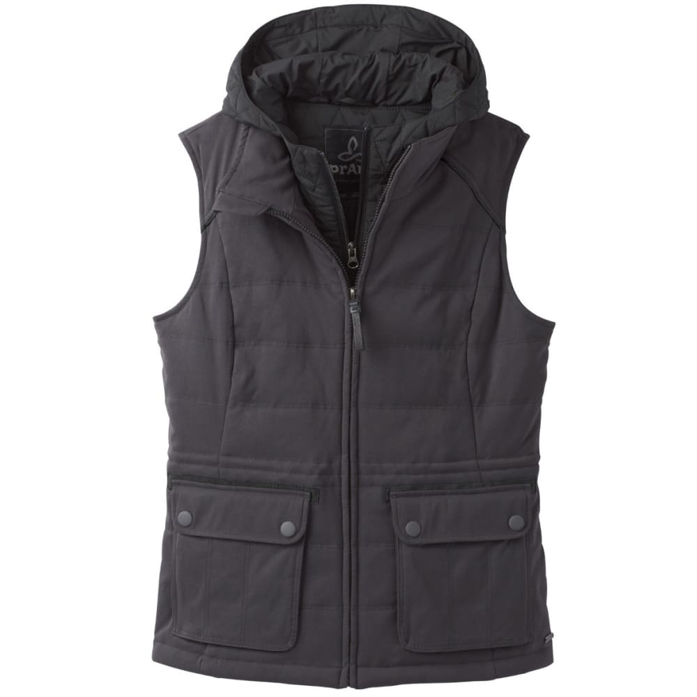 PRANA Women's Halle Insulated Vest - CHARCOAL
