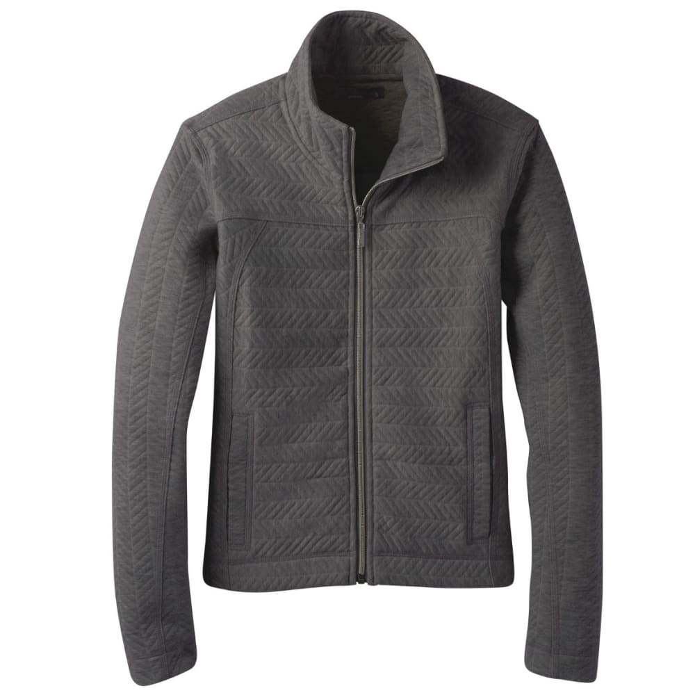 PRANA Women's Hadley Jacket - CHARCOAL HEATHER