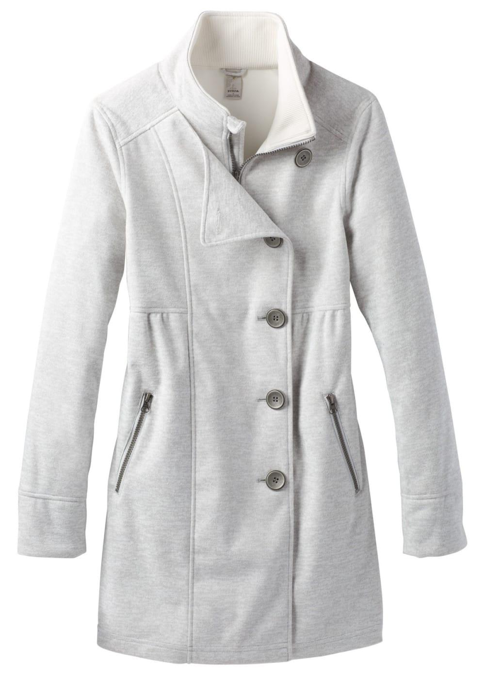 PRANA Women's  Martina Long Heathered Jacket - WINTER