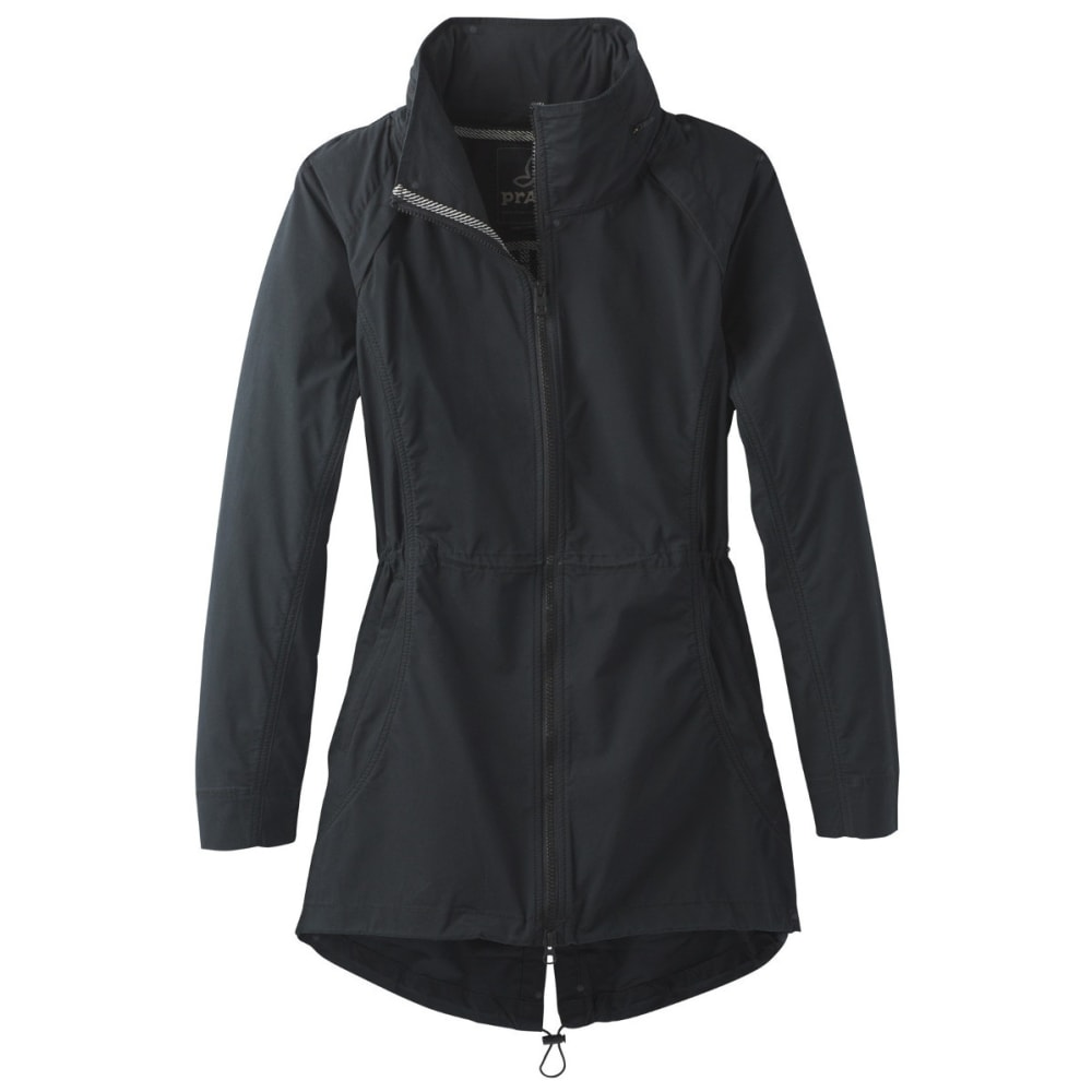 PRANA Women's  Horizon Anorak Jacket - BLACK