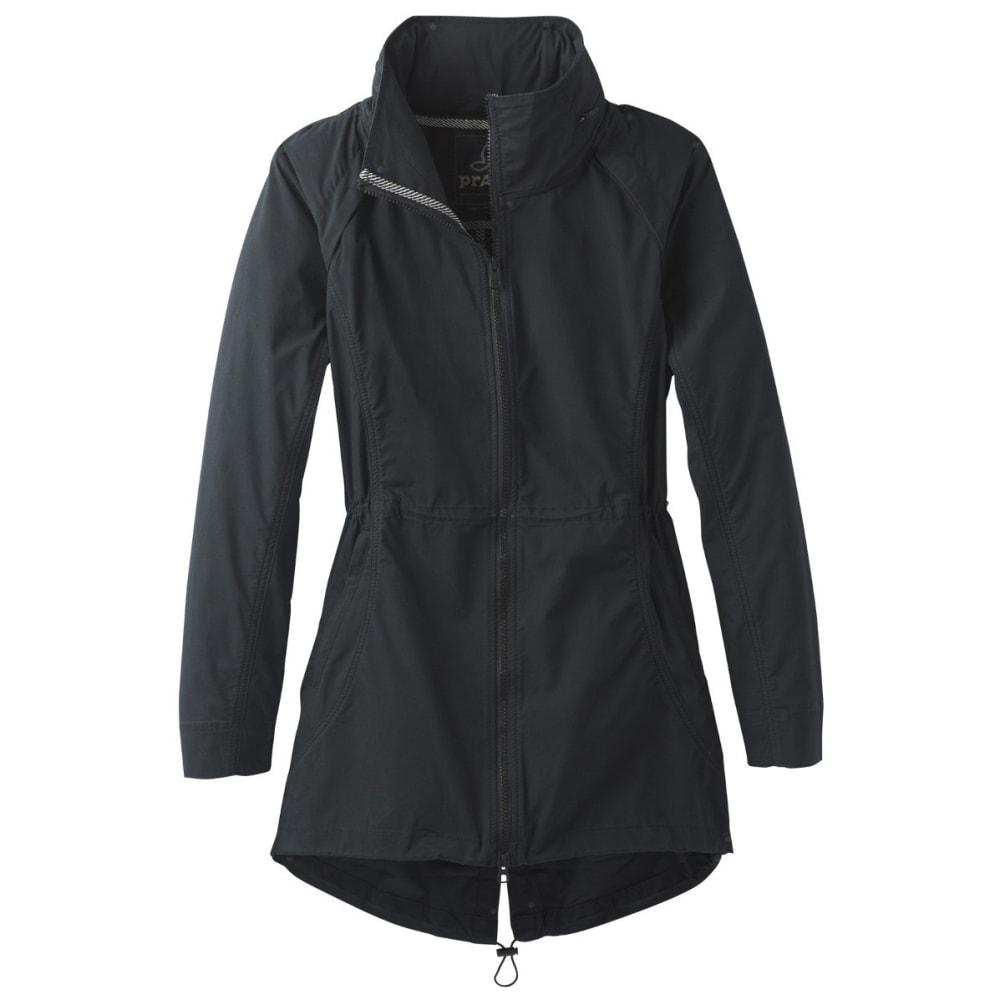 PRANA Women's  Horizon Anorak Jacket - BLACK