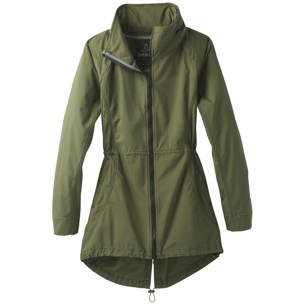PRANA Women's  Horizon Anorak Jacket - CARGO GREEN