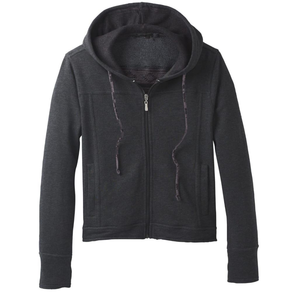 PRANA Women's Ari Zip Up Fleece - BLACK