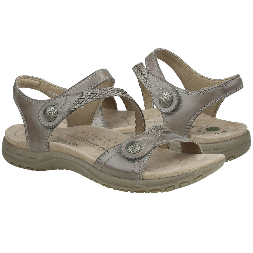EARTH ORIGINS Women's Salina Sandals - TAUPE-286