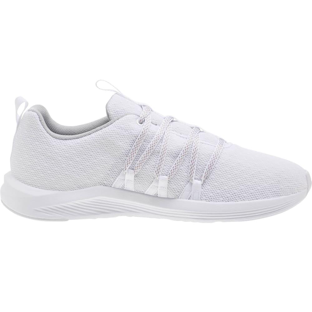 PUMA Women's Prowl Alt Knit Running Shoes - WHITE-02