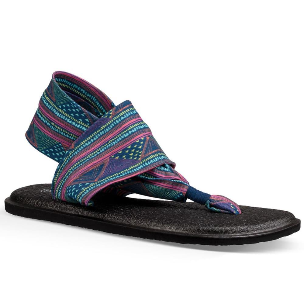 brand new united states sold worldwide SANUK Women's Yoga Sling 2 Prints Sandals - Eastern Mountain Sports