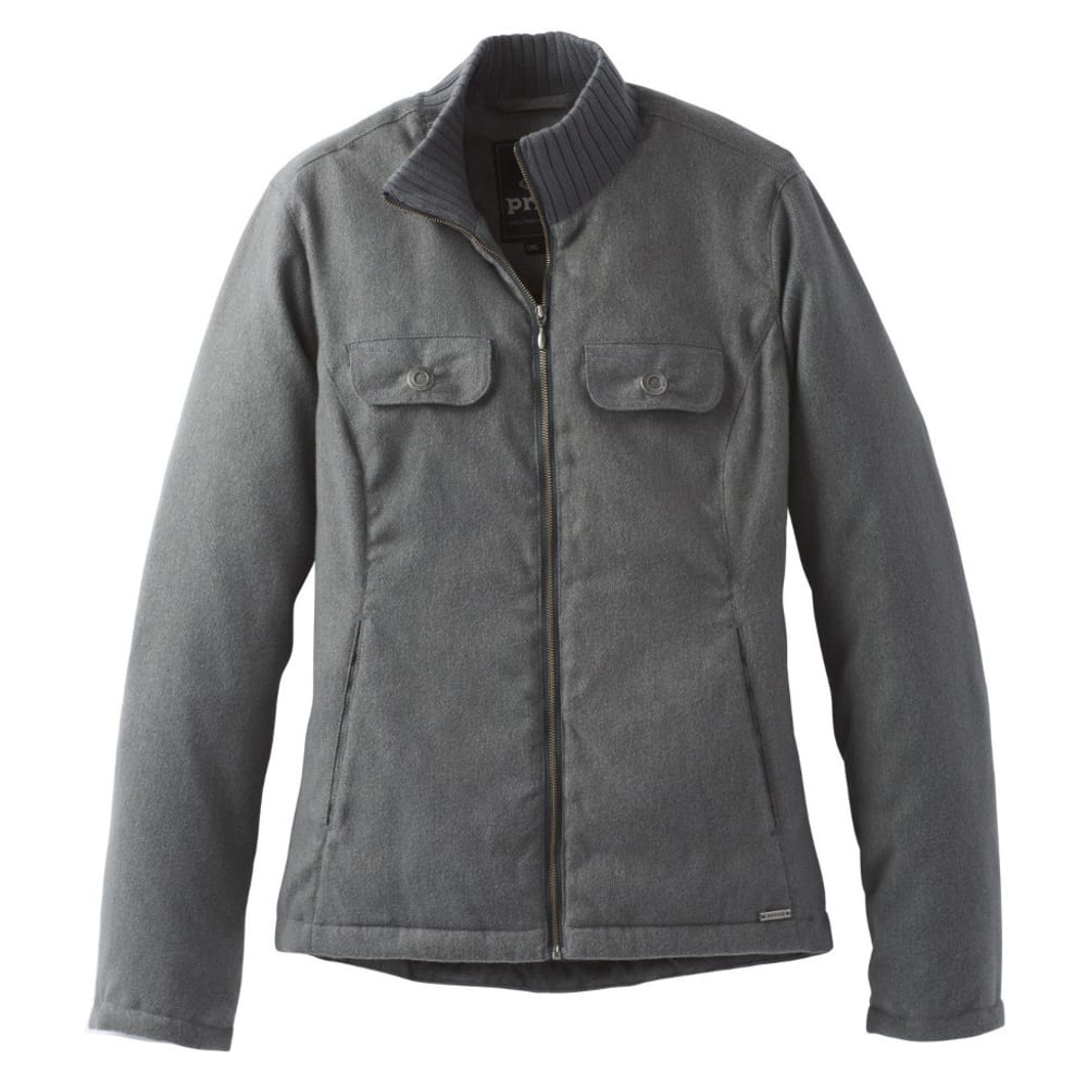 PRANA Women's Showdown Jacket - CHARCOAL