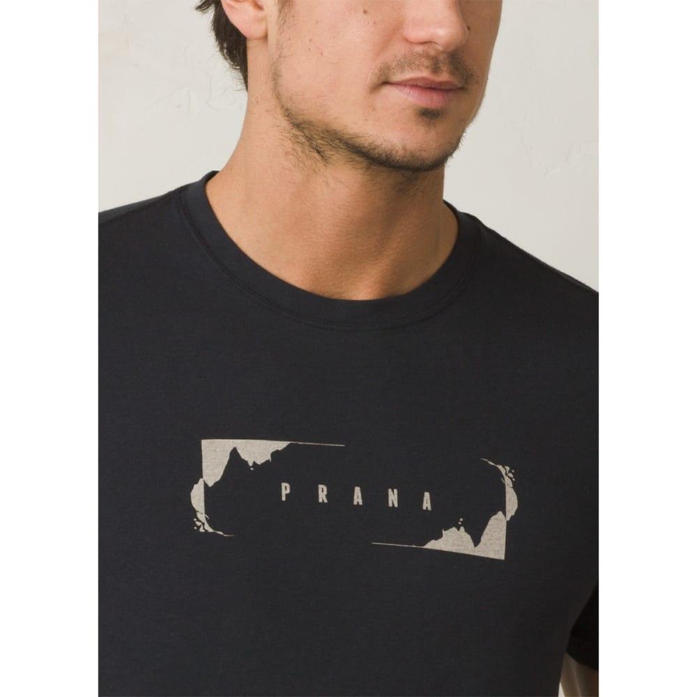 PRANA Men's Block T-Shirt - BLACK