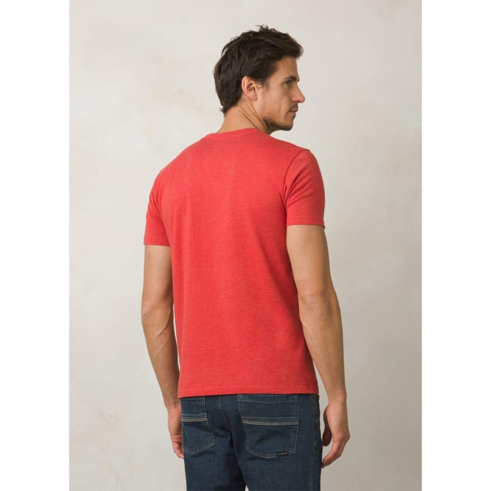 PRANA Men's Block T-Shirt - HARVEST ORANGE