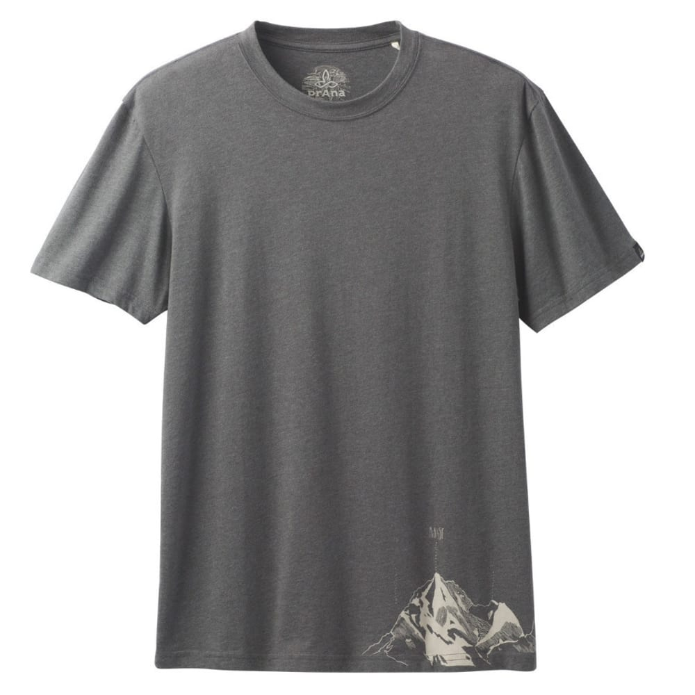 PRANA Men's Equator T-Shirt - BLACK