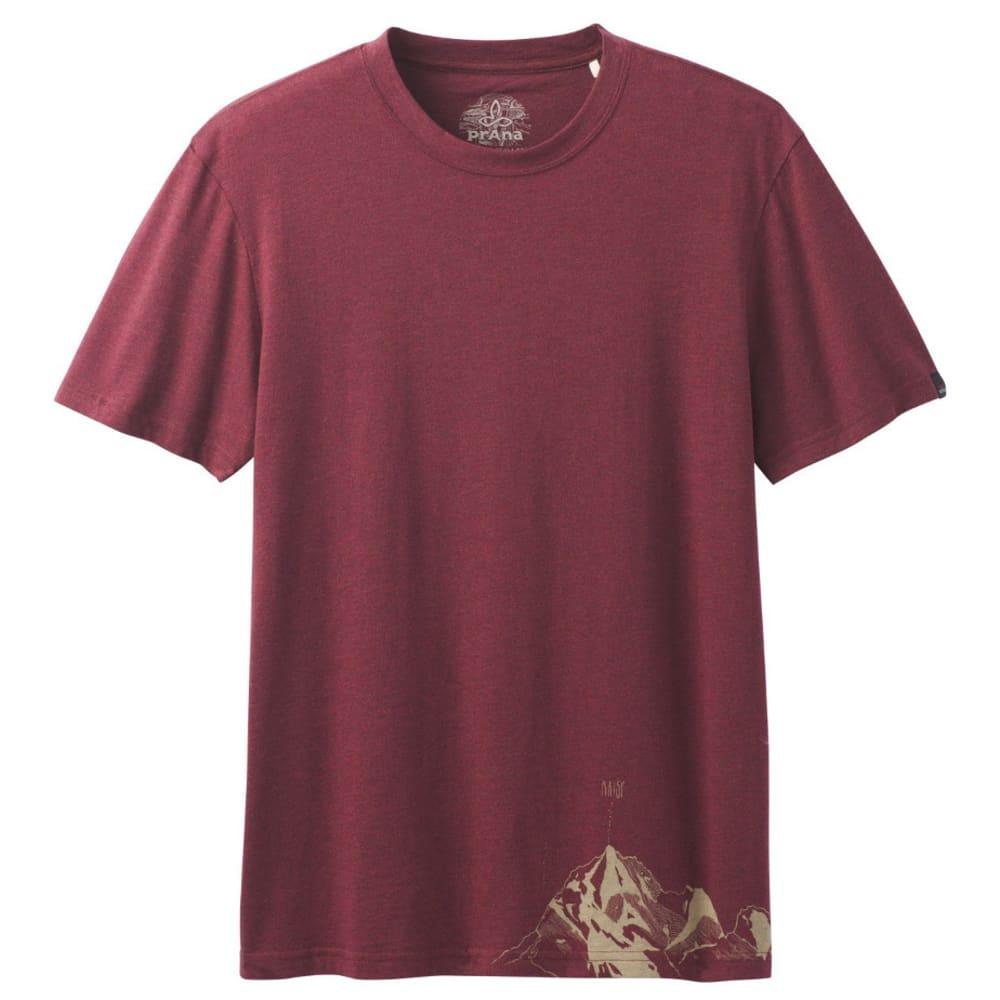 PRANA Men's Equator T-Shirt - RAISIN
