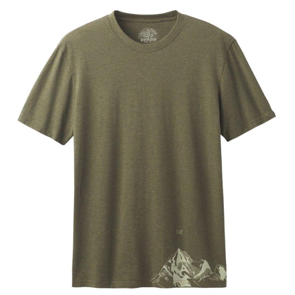PRANA Men's Equator T-Shirt - CARGO GREEN