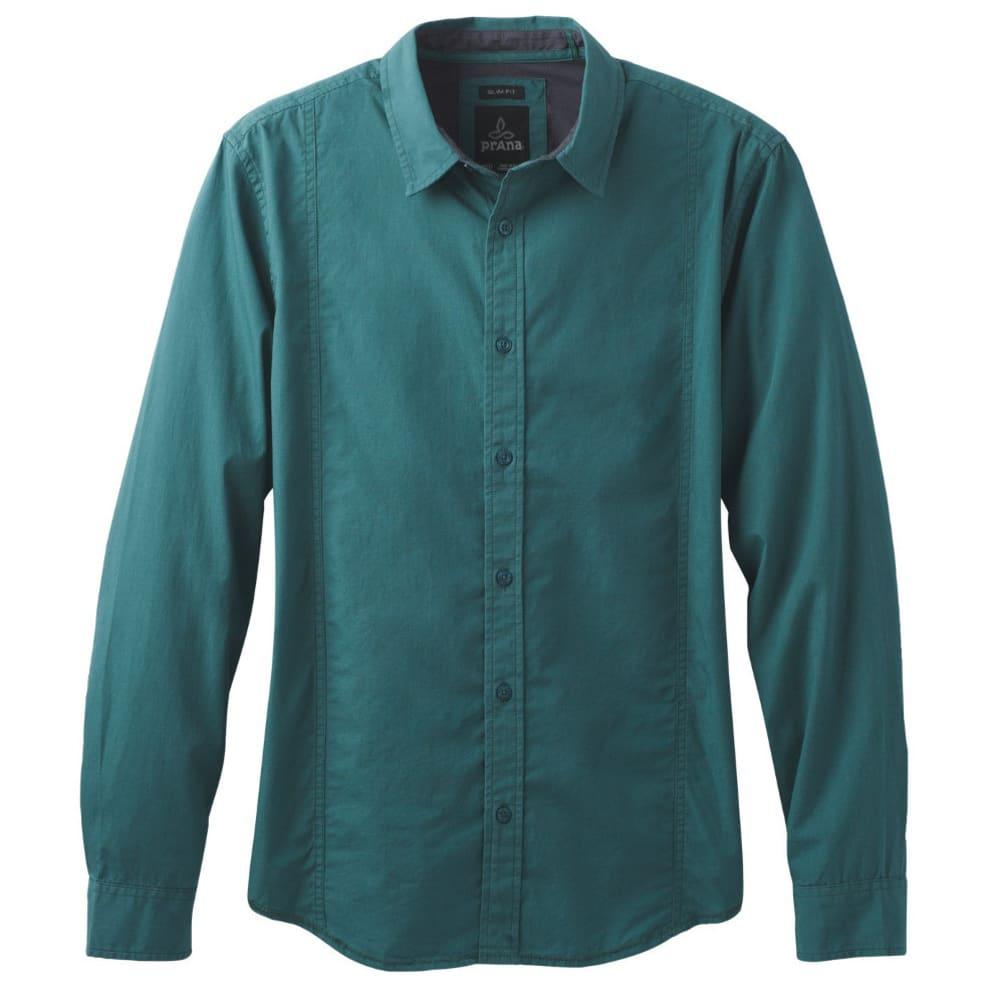 PRANA Men's Lukas Shirt - DEEP BALSAM