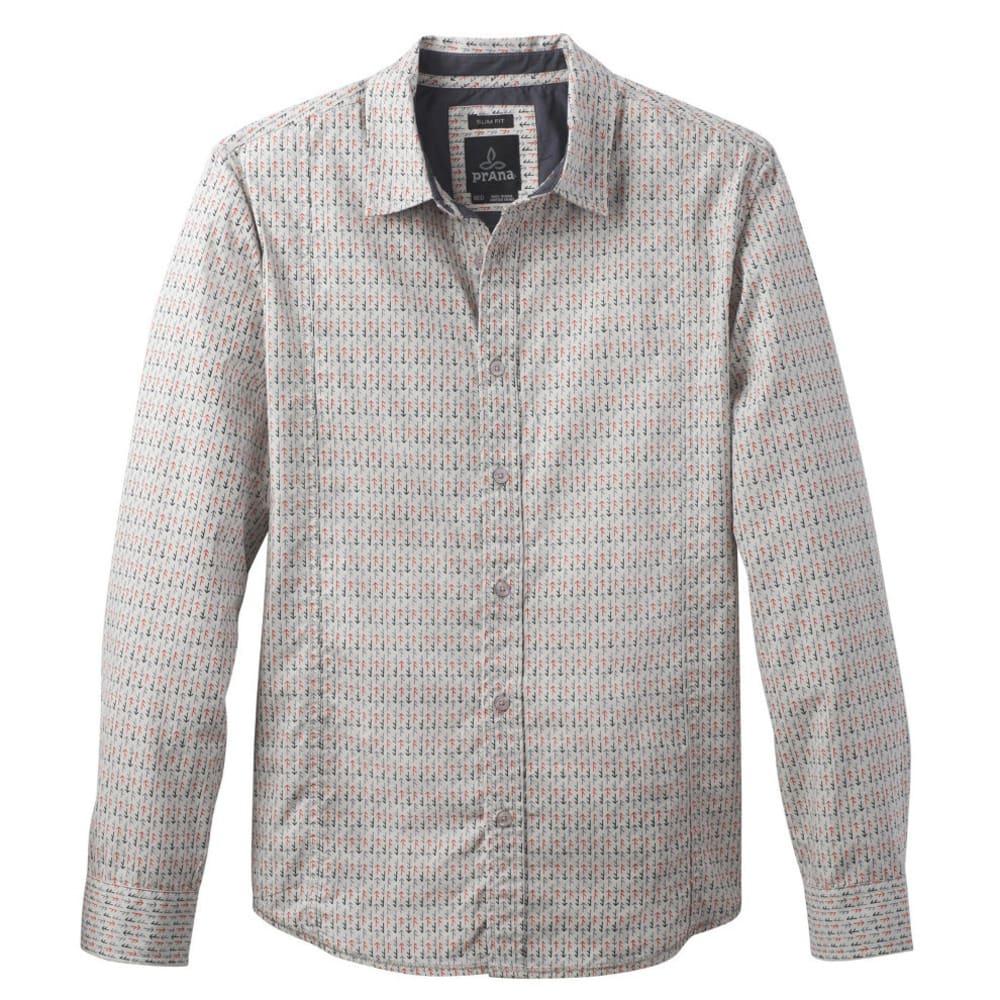 PRANA Men's Lukas Shirt - GRAVEL