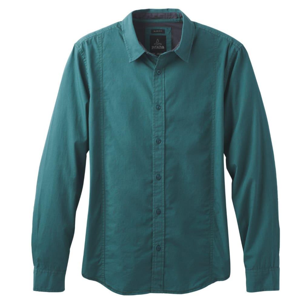 PRANA Men's Lukas Slim Shirt - DEEP BALSAM