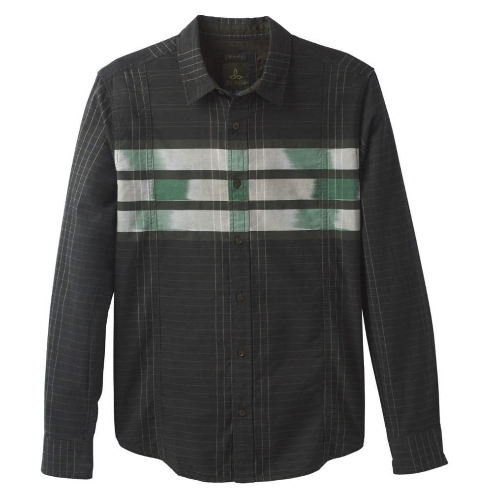 PRANA Men's Lukas Slim Shirt - DARK OLIVE