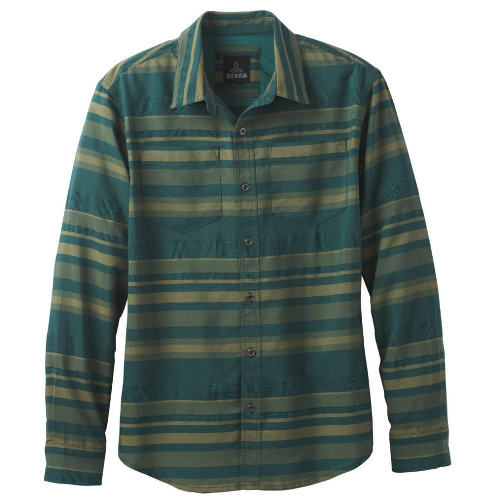 PRANA Men's Holton Shirt - DEEP BALSAM