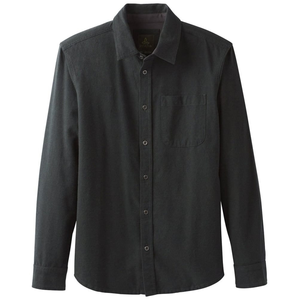 PRANA Men's Woodman Lightweight Flannel Shirt - VELVET GREEN