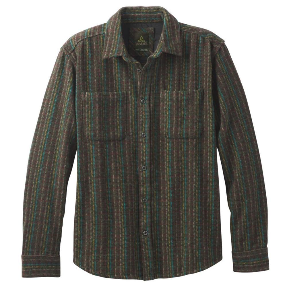PRANA Men's Brayden Heavyweight Flannel Shirt - DARK OLIVE