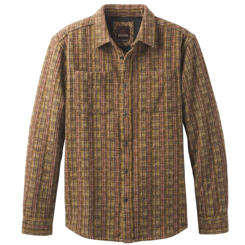 PRANA Men's Brayden Heavyweight Flannel Shirt - SEPIA