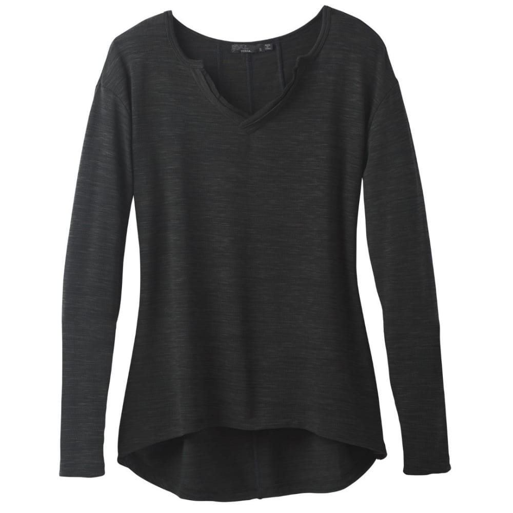 PRANA Women's Blythe Pullover - CHARCOAL
