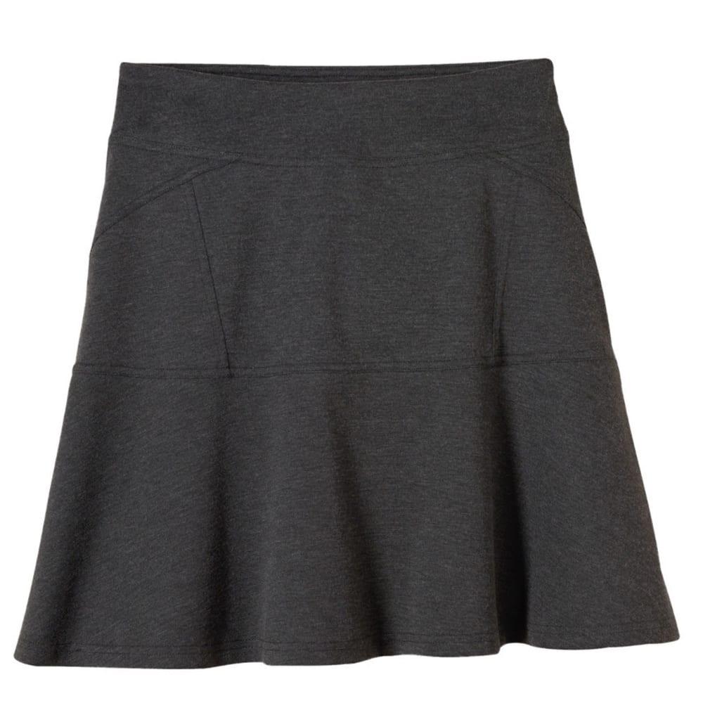 PRANA Women's Gianna Skirt - CHARCOAL