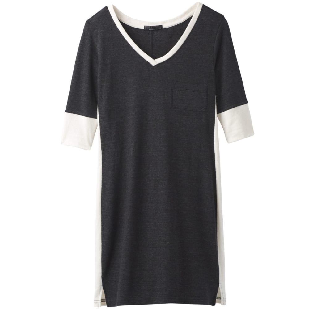 PRANA Women's Matilda Dress - BLACK