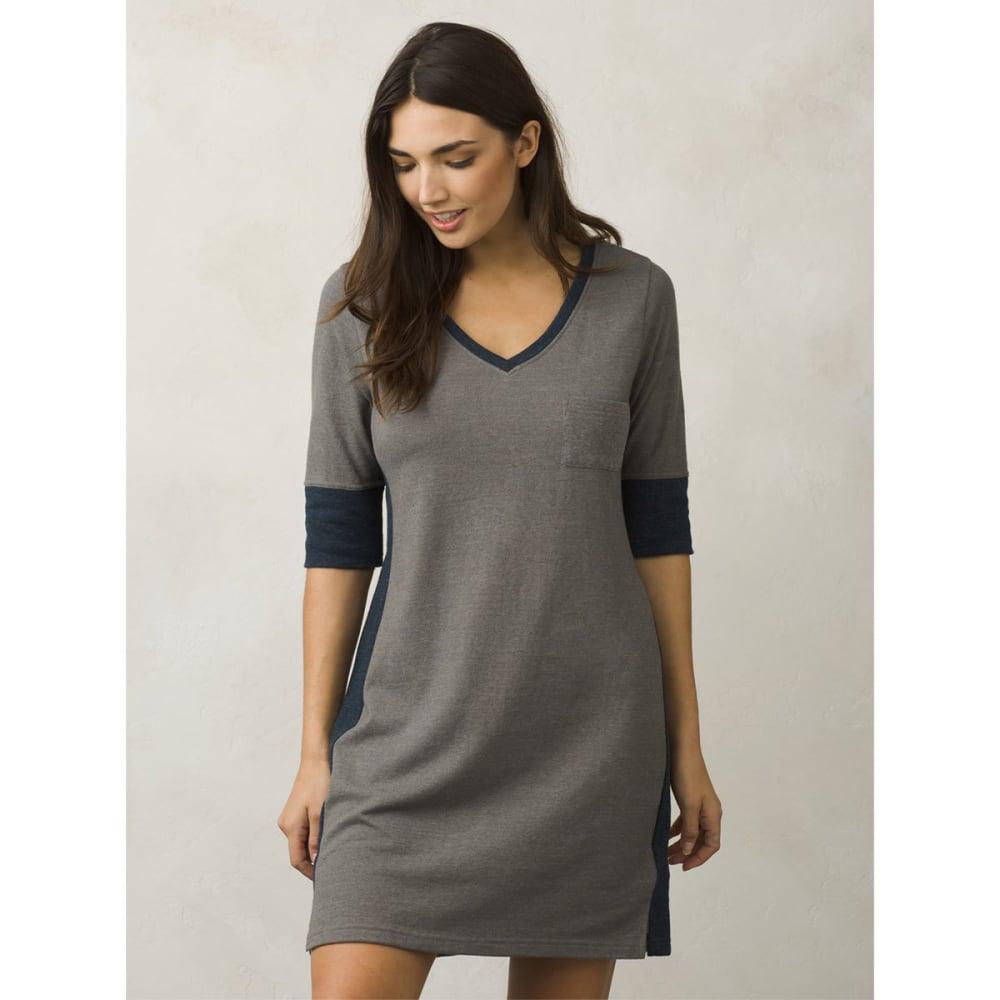 PRANA Women's Matilda Dress - GRAVEL