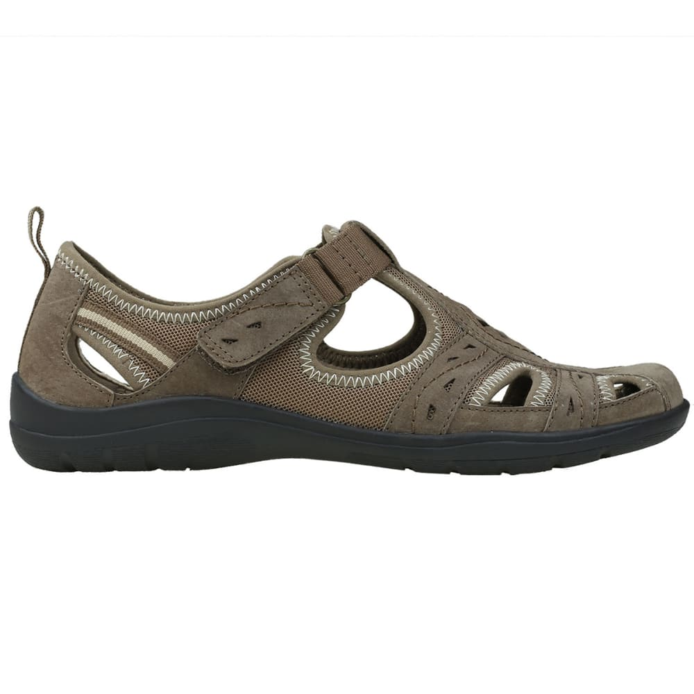EARTH ORIGINS Women's Taye Casual Shoes, Wide - BROWN-269
