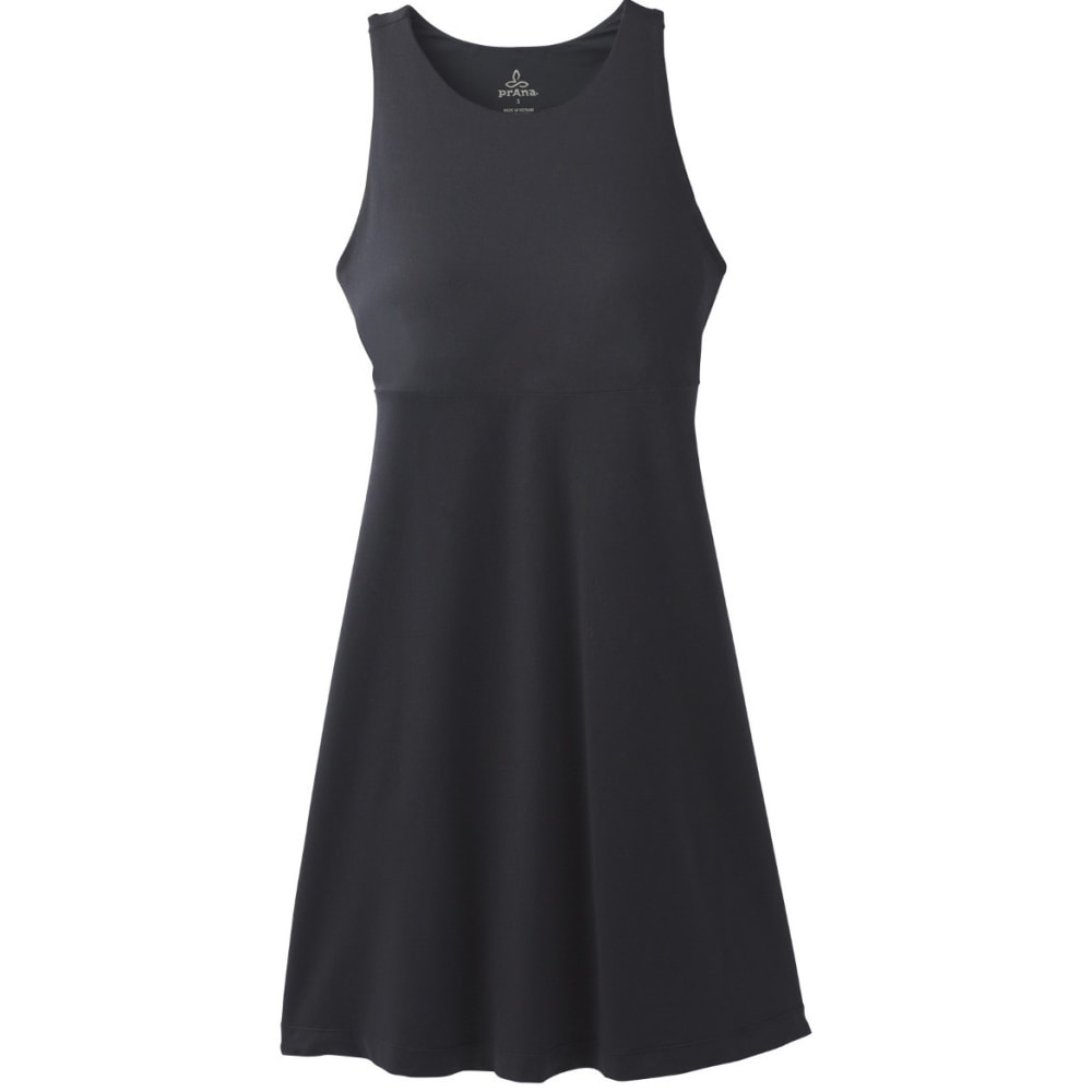 PRANA Women's Ariel Dress - BLACK