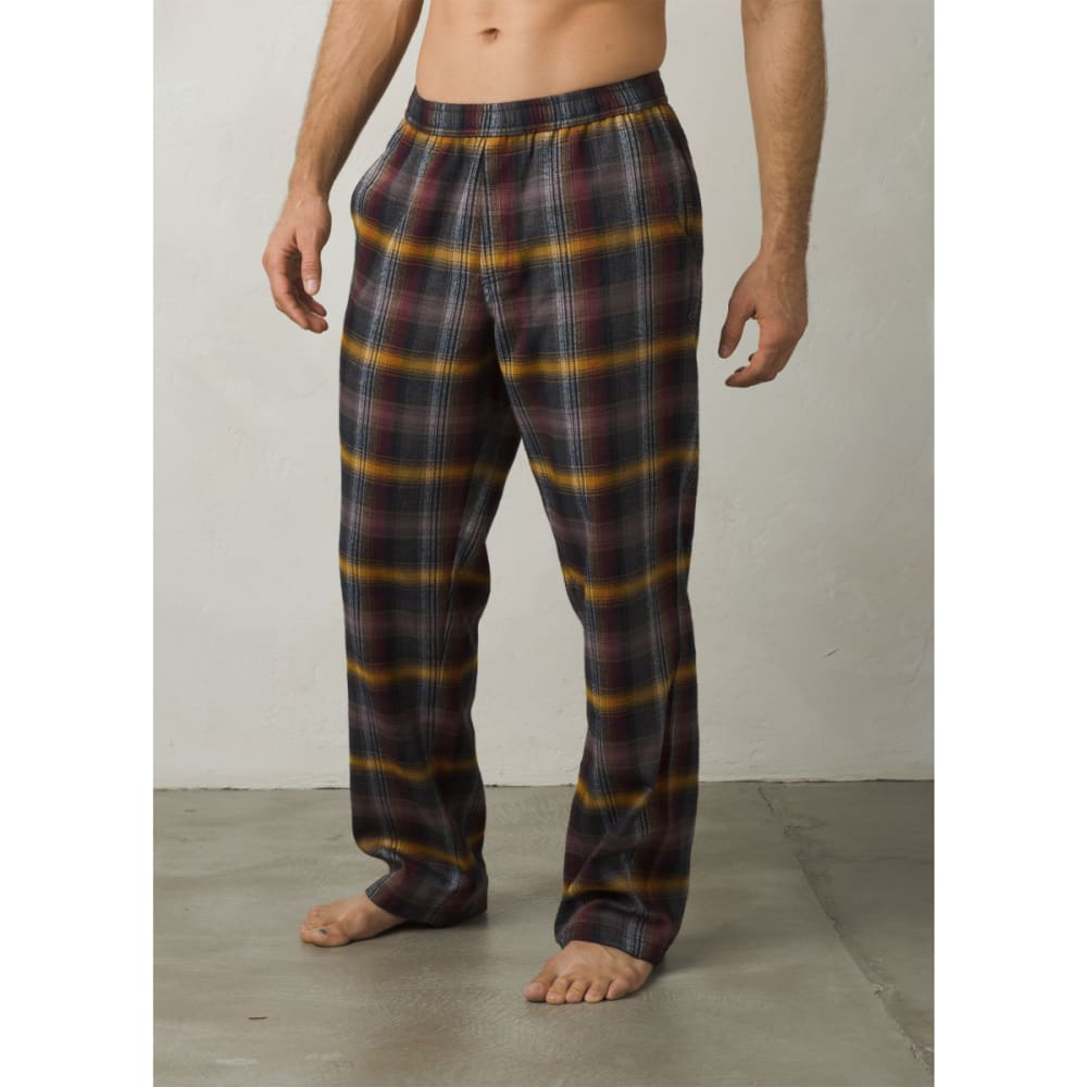 PRANA Men's Asylum Lined PJ Bottoms - BLACK