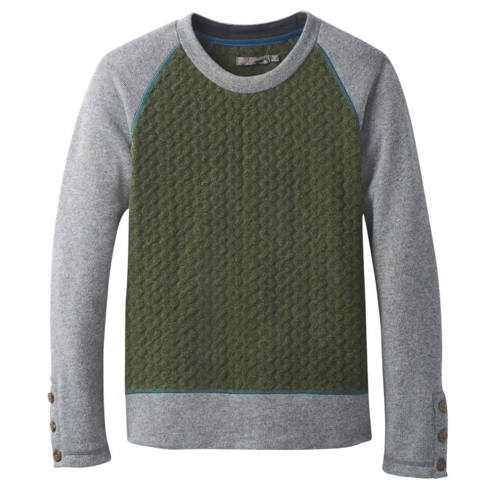 PRANA Women's Aya Sweater - CARGO GREEN