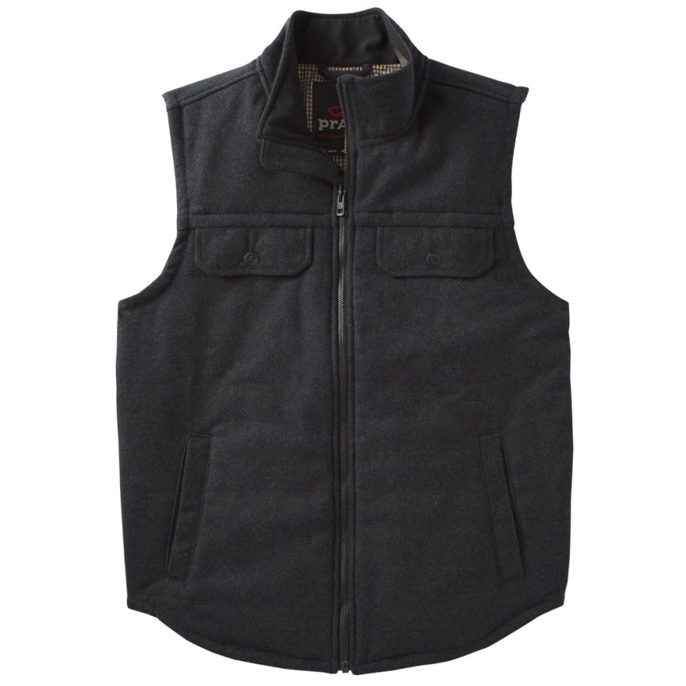 PRANA Men's Colewood Vest - BLACK HEATHER