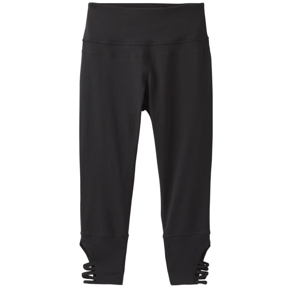 PRANA Women's Deco Crop Pants - BLACK