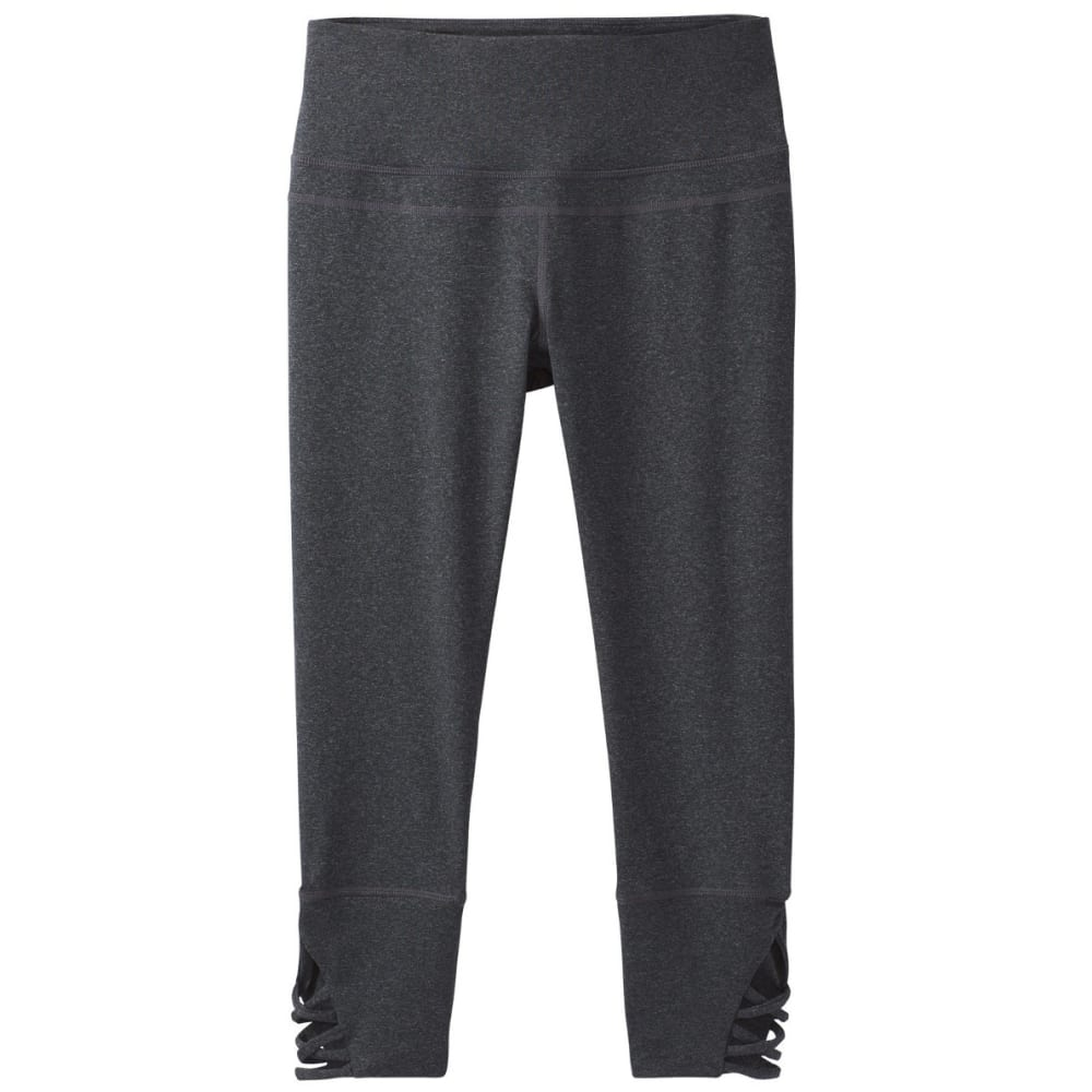 PRANA Women's Deco Crop Pants - CHARCOAL HEATHER
